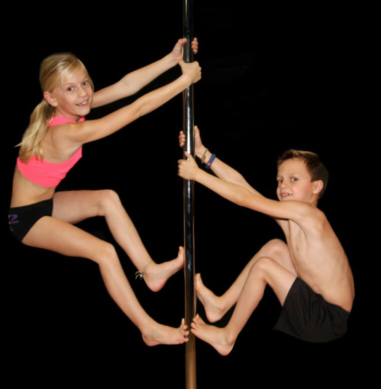 Kidzz Pole Party van Denzz Workshops